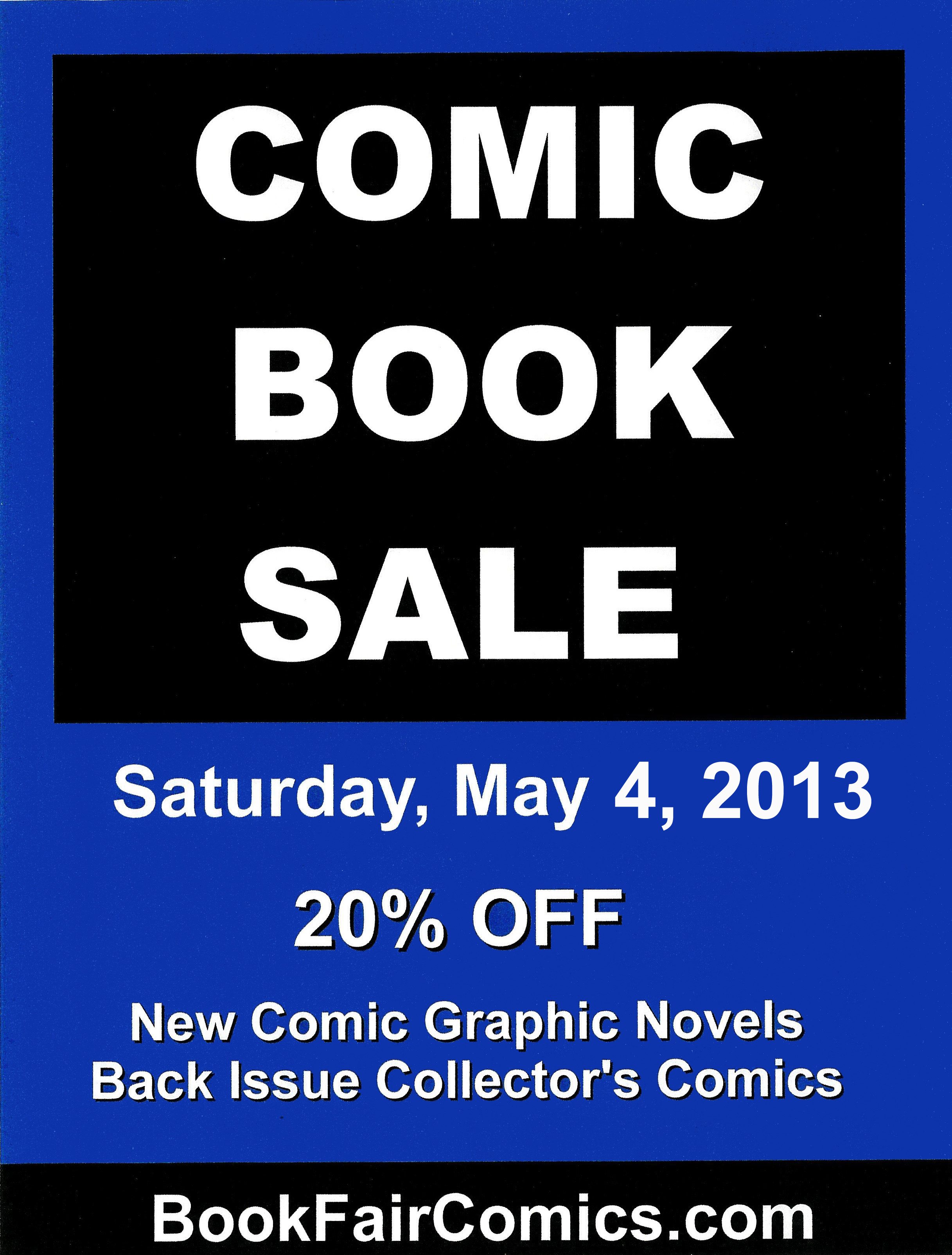 may comic book sale-small
