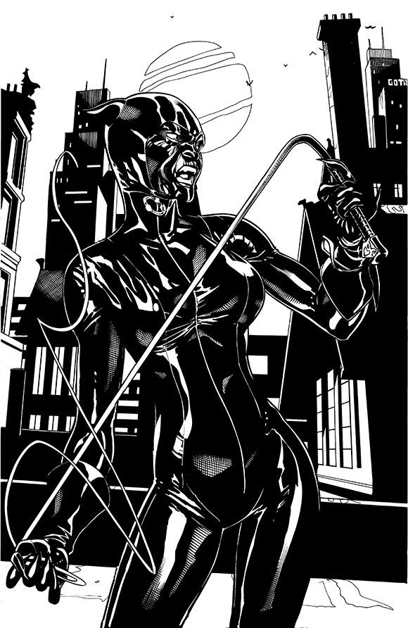 Catwoman Futures End 1B