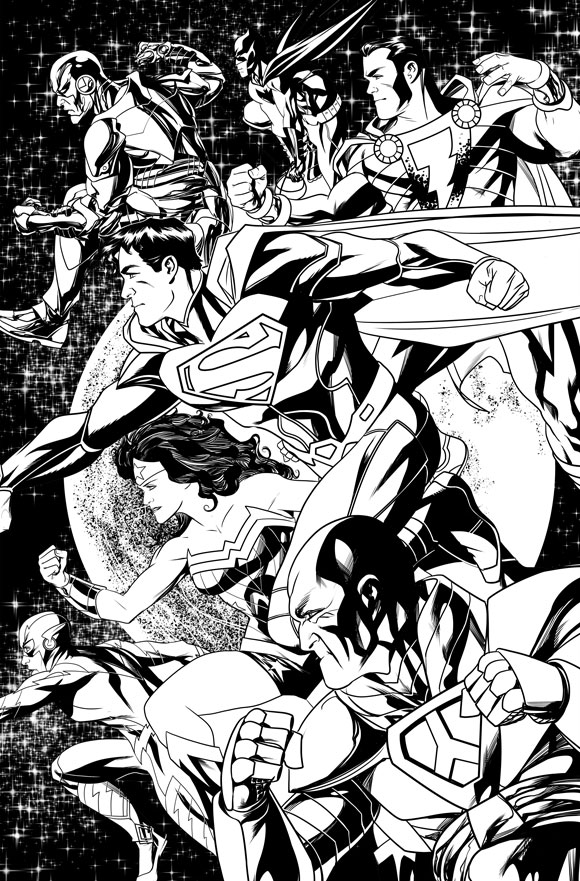 Justice League Futures End 1A
