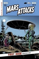 Mars Attacks First Born #1 sub