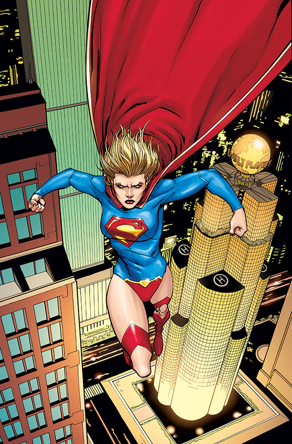 Supergirl Futures End 1A