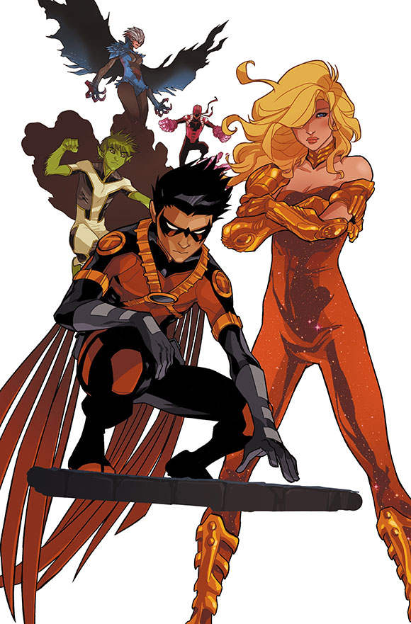 Teen Titans Futures End 1A
