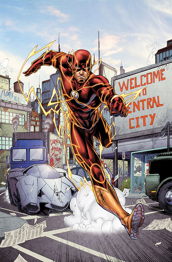 The Flash Futures End 1A
