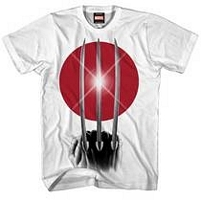 Wolverine Rising Claw white t-shirt