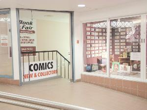 Book Fair Comics 2nd Floor Skywalk Entrance