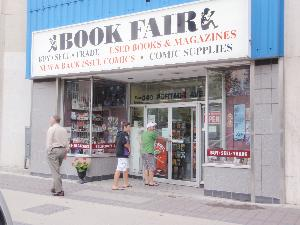 Book Fair Comics 340 Portage Ave, Winnipeg, MB